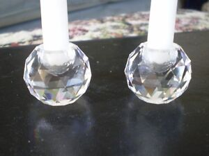 "Swarovski Crystal Figurines - "" Candle Holders "" Kitchener / Waterloo Kitchener Area image 2"