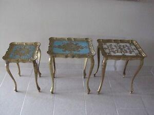 3 tables rococo