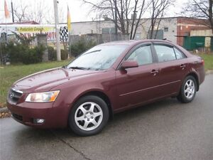 2007 Hyundai Sonata Automatic, Leather, SunRoof, Only 75000 Kms