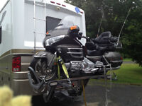 Motorcycle lift for RV