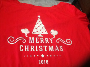 Red Christmas shirt sz 20-24.  New with tags. Kingston Kingston Area image 1