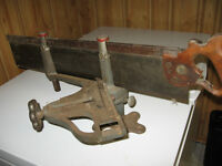 Disston & Sons Back Saw and Stanley Model 100 Mitre