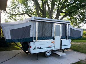 Coleman Santa-fe , tent trailer