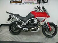 2008 MOTO GUZZI STELVIO - TRIPLE LUGGAGE - ROLLERS UPGRADED