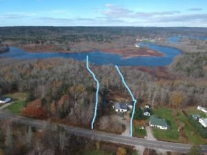1.7 Acres on River w/ ponds by house | 10km from Yarmouth, NS