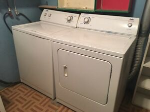 Washer and dryer - Inglis brand