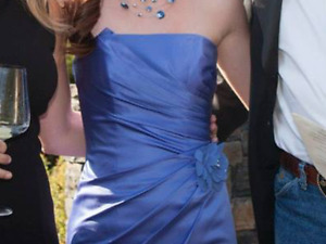 Lavender gown for wedding or grad
