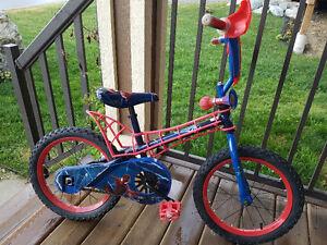 Spider-Man 16 Inch Boys Bike