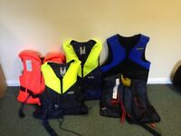 Job Lot Lifejackets