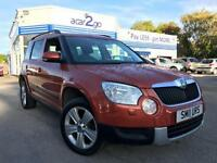 2011 Skoda YETI SE TDI CR 4X4 Manual Hatchback