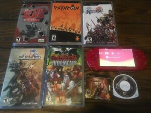Sony God of War PSP with games