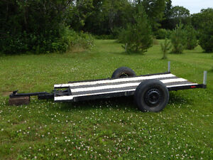 Trailer plate forme