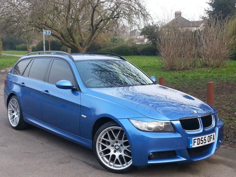 BMW 3 SERIES 2.0TD 320d M Sport Touring Estoril Blue, 19 ...