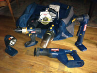 Lot of tools - Ryobi 18v - in great condition + extras