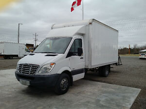 2011 Mercedes-Benz Sprinter Cube Van