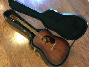 Martin D 15M with Built in Pre-amp