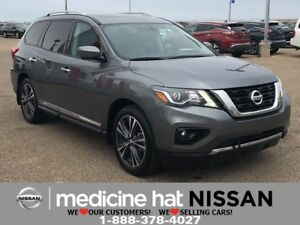 2018 Nissan Pathfinder Platinum *DUAL DVD SCREENS