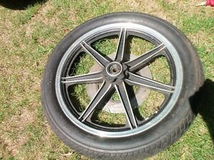 100/90-18 front tire