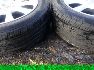 """Acura TSX OEM 17"""" Rims, TPMS,  and Michelin Pilot Tires Cambridge Kitchener Area image 7"""