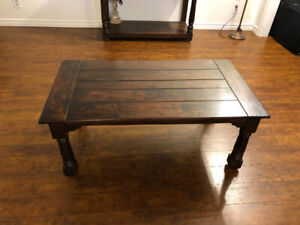 Solid Wood Coffee Table from Wicker Emporium