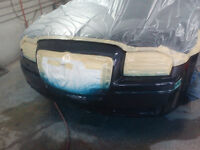 MJ carrosserie body shop car painting