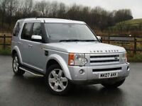Land Rover Discovery 3 2.7TD V6 auto 2007 HSE PX SWAP FINANCE WARRANTY AVAILABL