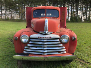 1946 Mercury 3 Ton Stake Truck Restoration Project