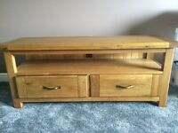 Harvey's 'Calais' oak plasma TV unit