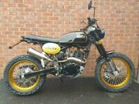 2020 BULLIT MOTORCYCLES HERO 125 BRAND NEW 2 YEAR WARRANTY RETRO SCRAMBLER