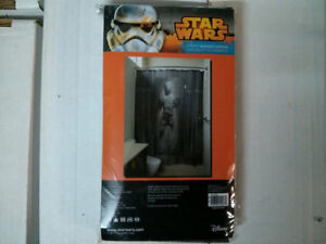 Star Wars Han Solo in Carbonite Shower Curtain with hooks $30