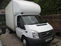 2011 61 FORD TRANSIT 2.4 350 E/F DRW 1D 115 BHP LUTON WITH ALLOY SLIM JIM TAIL