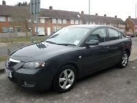 2008 Mazda Mazda3 1.6 TS2 4DR 08 REG Petrol Black