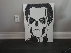 Tobias Forge Papa from the band Ghost original painting 18 X 24