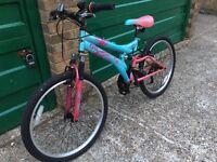"Girls mountain bike 24"" Dunlop Sport"