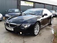 BMW 645 CI 4.4 V8 Muscle Coupe Black Auto Petrol 2004 (04)
