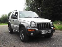 RARE 2003 JEEP CHEROKEE 2.8 CRD EXTREME SPORT DIESEL AUTOMATIC PX SWAP