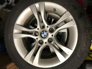 4 Winter Tires with 4 BMW Rims Gatineau Ottawa / Gatineau Area image 1