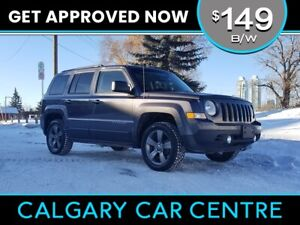 2015 Jeep Patriot $149B/W w/Heated Leather, Sunroof, USB Connect