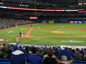 BLUE JAYS TICKETS: GREAT SEATS FOR AUGUST & SEPTEMBER GAMES!!!