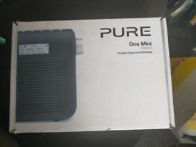 PURE ONE MINI DAB RADIO