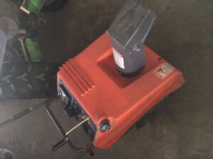 """4 x 22""""  single stage snowblower for sale $80-$100"""