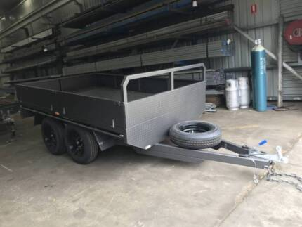 NEW 12x6 Tandem Flatbed Trailer @2800 gvm @ NORTH GEELONG North Geelong Geelong City Preview