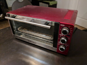 Red Toaster Oven
