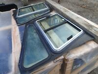 side windows Fit Cat skid Steers $150 / pair New Old Stock