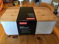 Body's Bistro bread box / bread bin - brand new