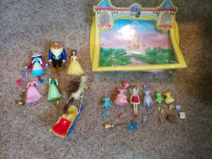 Disney Princess deluxe gift set, Belle and Tinkerbell
