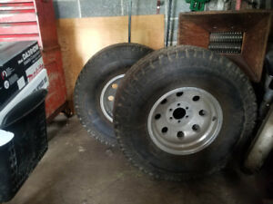 2 Mickey Thompson tires & Rims