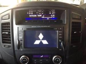 Mitsubishi Pajero car DVD GPS support Rockford free reverse camer Hurstville Hurstville Area Preview
