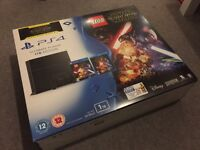 Sony PlayStation 4 1TB Ultimate Player Edition + Lego Star Wars + Force Awakens Blu-Ray - NEW!