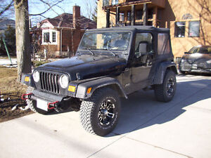 Nice 2000 Jeep TJ Convertible low kms
